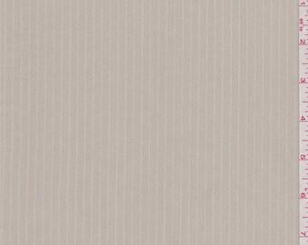 Tan Stripe Stretch Twill, Fabric By The Yard