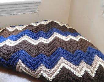 Zigzag Blanket: February