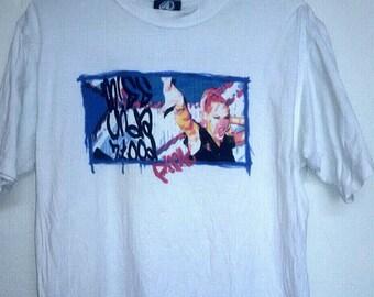 Rare!! P!nk T Shirt//Recording Artist,dancer,actress,author//Miss Understood Tour Concert//Size L