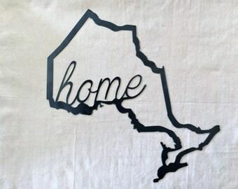Map - Ontario