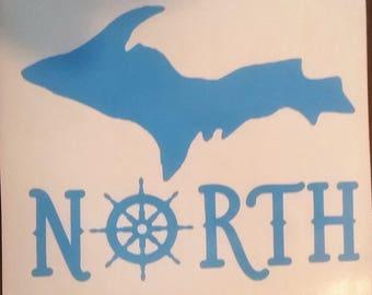 Michigan UP North decal