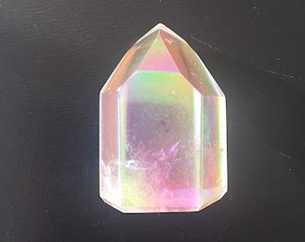 On Sale - Angel Aura Quartz Crystal – Mini Tower #3