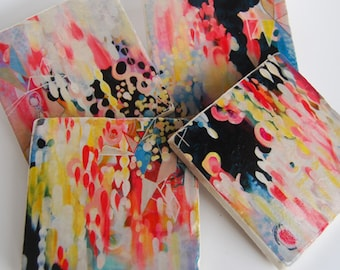 Paper Chains - coaster collaboration - Stephanie Corfee
