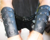 Weaved Leather Bracers / ...
