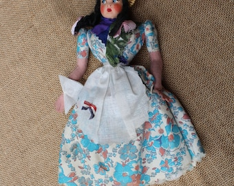 Vintage Doll from Buenos Aires Argentina 1960