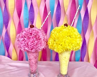 Ice cream / milk shake / birthday