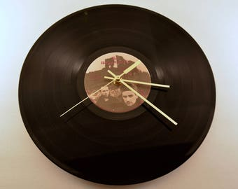 "U2 -- The Unforgettable Fire, 12"" Vinyl Clock"