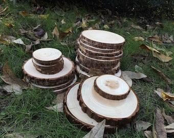 10 pieces cedar  firs Tree Slices,Wood Slices,Rustic Wedding Decor,home decor, DIY, Woodwork Supplie,mat, coaster,Beautiful texture