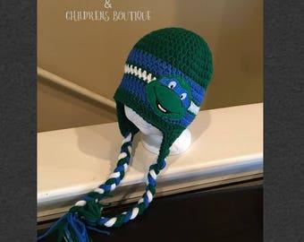 crochet blue tmnt