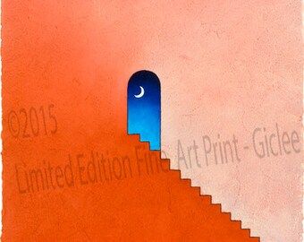 """Night's Doorway - """"Collector's Limited Edition Fine Art Print - (Giclee)"""""""