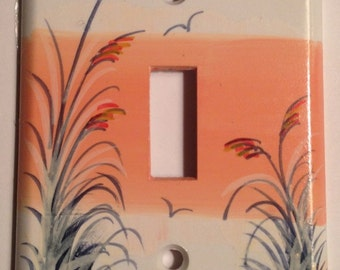 Sand Dune with Sea Oats  SingleLightswitch cover
