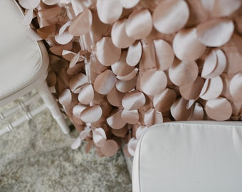 Latte Petal Tablecloth - Romantic Wedding