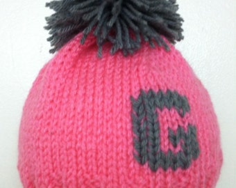 Kid's Hat, 0-4yrs. Personalized, Monogrammed, Custom, hand made.