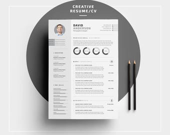 creative resume etsy - Creative Resume