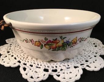 Decorative Mold Hanging Mold Vintage Ceramic Mold Jello Mold Porcelain Country Kitchen Decor Retro
