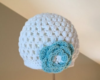 RTS in a 6-12 month Size photo prop hat beanie first photos Hat Crocheted