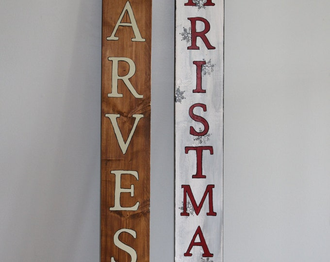 4' Plank Sign - Double Sided