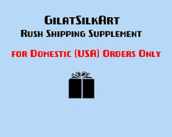 Rush Shipping Supplement for U.S. ORDERS ONLY