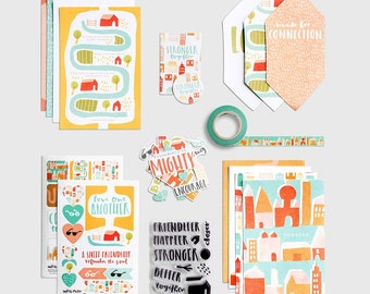 Stronger Together Devotional Kit, with Optional Stamp! - by Illustrated Faith