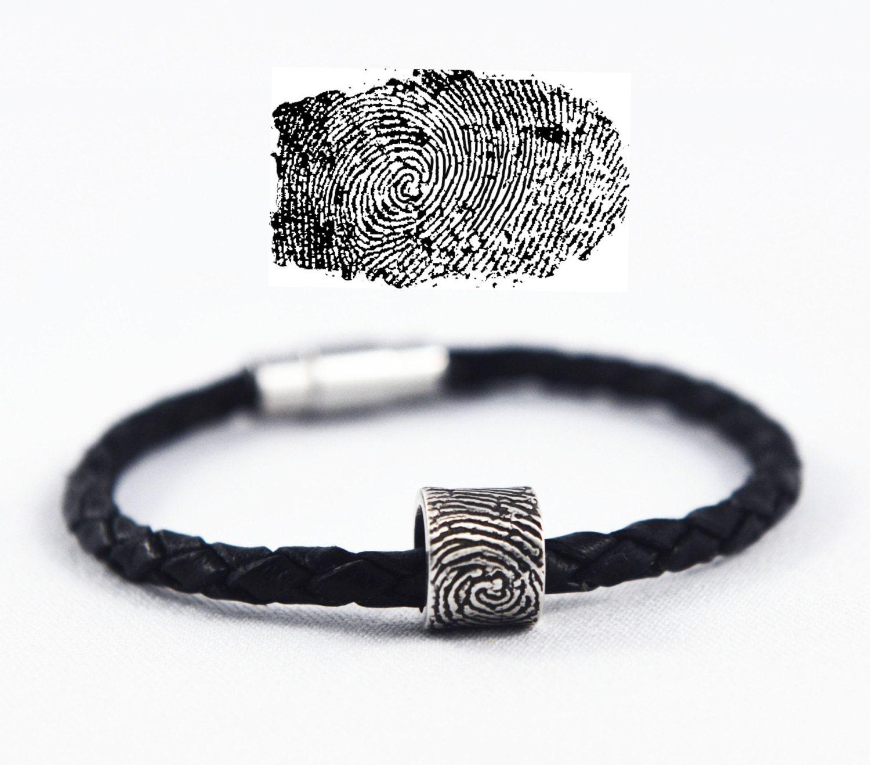 Fingerabdruck-Armband Fingerabdruck-Schmuck