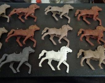 4 lots of miniature horses