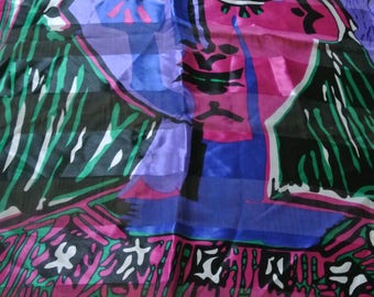 Vintage Picasso Scarf from Spain