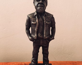 Sons of Anarchy inspired Clay sculpture