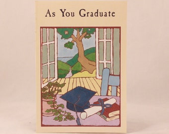 NEW! Religious Graduate by DaySpring . 1 Single Card with Envelope.