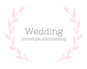 Wedding-Envelope Addressing