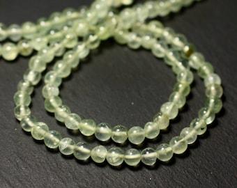 20pc - stone beads - Phrenite balls 4mm - 8741140011533
