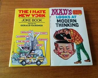 Two Vintage Humor Books