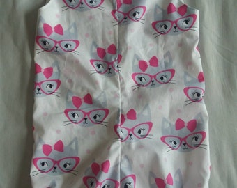 Size 2 Retro Cats Bubble Suit