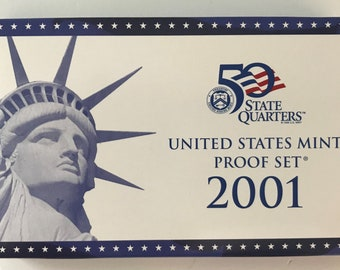 2001 - S Proof Set (10 Coins)
