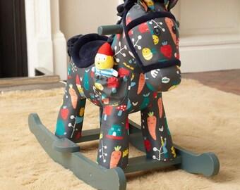 Rocket and Bud Rocking Horse, Toy, Kids