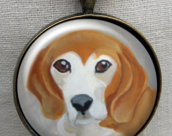 Beagle Keychain ~ Beagle Gift ~ Dog Owner Gift ~ Boyfriend Gift ~ Dog Dad Gift ~ April Birthday
