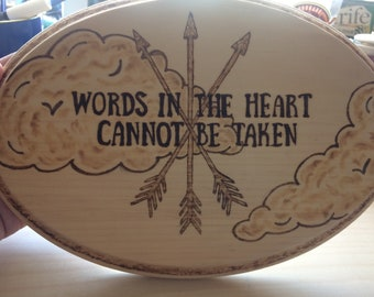 Words in the Heart
