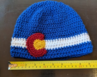 Adult sized Colorado logo hat