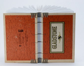 Cigar Box Book - Sketch - Journal - Coptic Bound - Blank - Gladstone - Red Lion - PA - Pennsylvania
