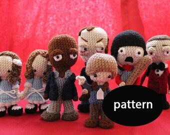 Pattern for The Shining Amigurumi