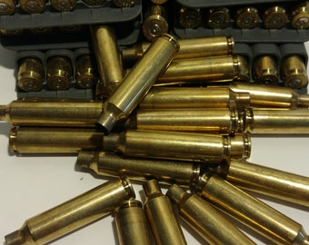 75+ Count, 6.5-284  Brass, Once-Fired. All Nosler, yellow brass casings.