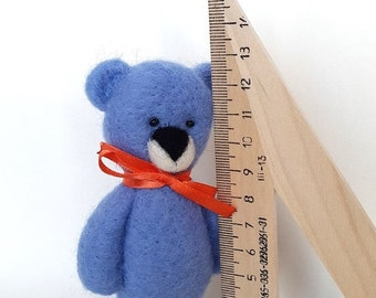 On Sale Bear Toy-Blue Baby toy for Boys-Handcrafted Eco Friendly Toy