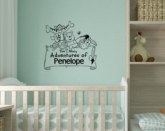 Winnie the Pooh Decal - Pooh and Piglet Decal