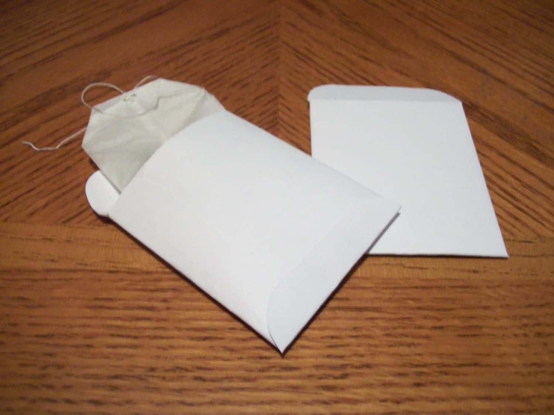 Printable Tea Bag Envelope Template Or Seed Packet Template PDF, PNG ...