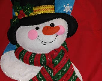 Christmas Stocking Bucilla 18 inch Jack Frost