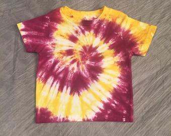 Toddler Tie Dye Top, Size 2T, bright kids t-shirt, Cute Kids Tie Dye, Kids cute tye dye, Toddler Tye Dye, Toddler Girl T Shirt, RS0717251