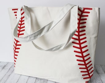 Personalized Baseball Tote Bag! Perfect for Baseball Moms, Families, and more!   **20% off until 4/15/2018 see coupon code in listing