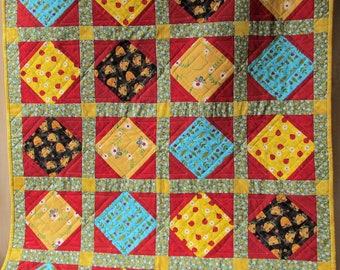 Ladybugs and Bees Quilt