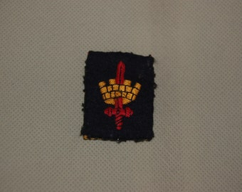 Original WW2 Cloth patch for the London District, Homefront