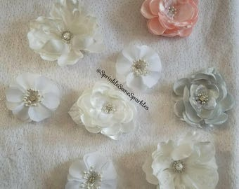 Fabric Flower Magnets - Pack of 3 (Assorted)