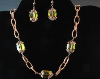 Glass Necklace Set. Listing  25057963